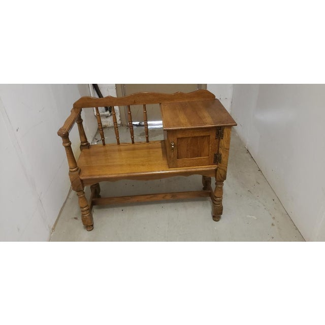 Vintage Telephone Desk For Sale - Image 12 of 12