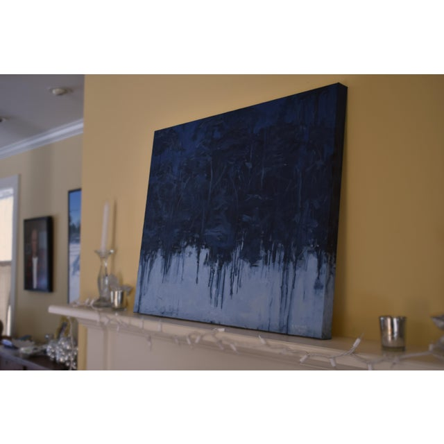 """Lovely, Dark and Deep"" Original Painting For Sale In Providence - Image 6 of 8"