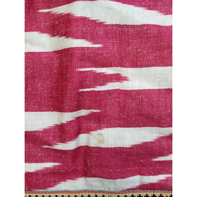 19th Century Vintage Turkish Ikat Textile For Sale In New York - Image 6 of 12