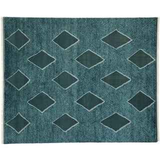 Contemporary Moroccan Texture Area Rug- 8′10″ × 10′8″ For Sale
