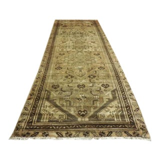 Vintage Persian Runner - 4' × 9' For Sale