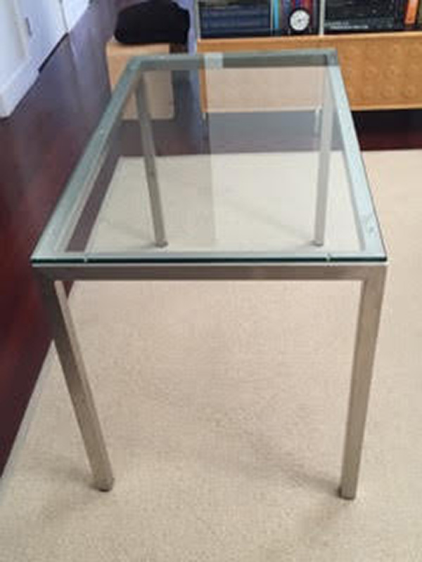 Beau This Table Was Recently Purchased From Room And Board. It Was Customized To  Fit A