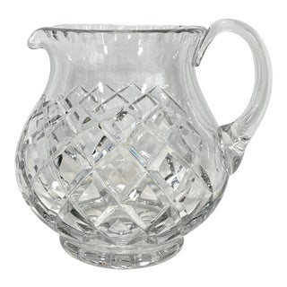 Crystal Glass Pitcher For Sale