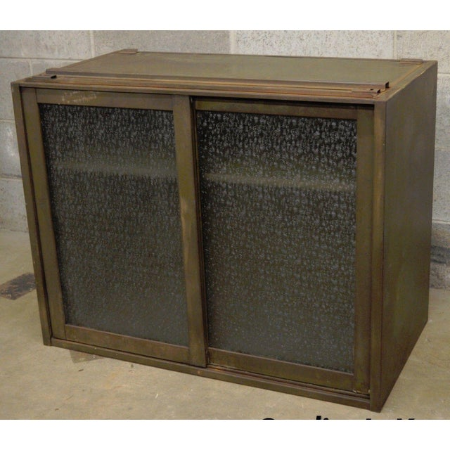 20th Century Industrial Remington Rand Green Steel Metal Stacking Barrister Storage Cabinet For Sale - Image 13 of 13
