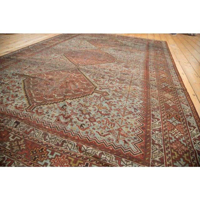 """Textile Vintage Shiraz Carpet - 6'10"""" X 9'9"""" For Sale - Image 7 of 10"""