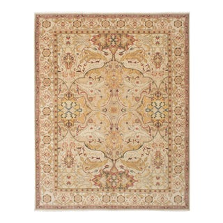 """Classic Hand-Knotted Rug, 9'0"""" X 11'7"""" For Sale"""