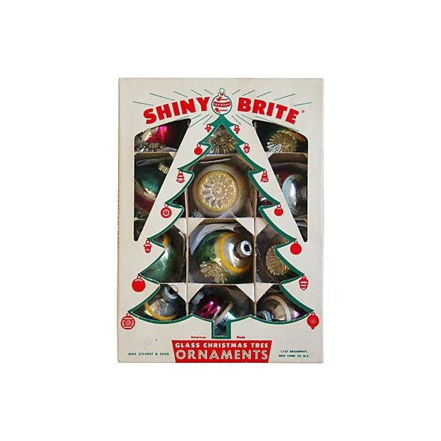 1950s christmas tree ornaments set of 12 for sale image 5 of 6 - 1950s Christmas