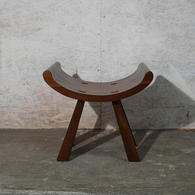 Mid-Century Modern Butterfly Stool For Sale - Image 3 of 8