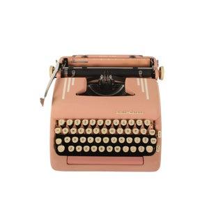 Pink Rejuvenated Smith Corona Silent-Super Typewriter - Excellent Working Order For Sale