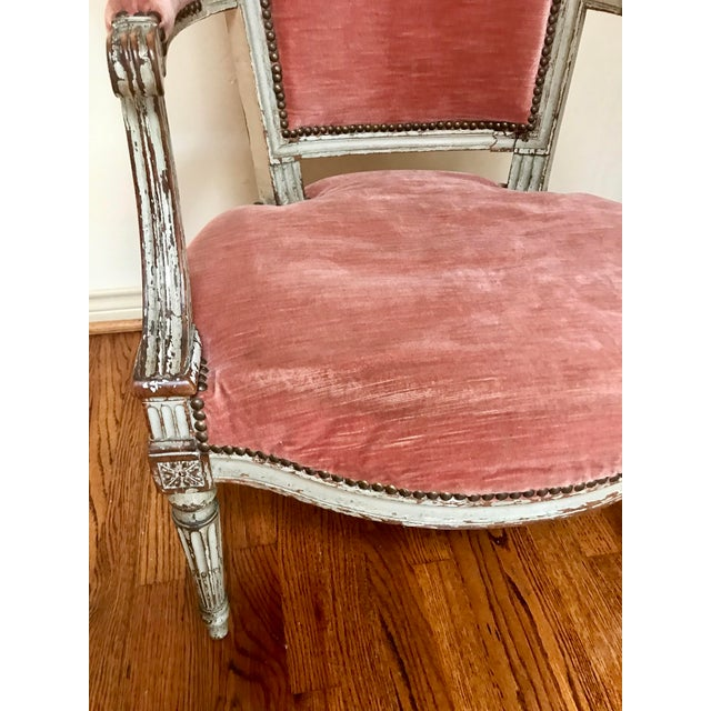 1900 French Louis XVI Chair For Sale In Dallas - Image 6 of 8