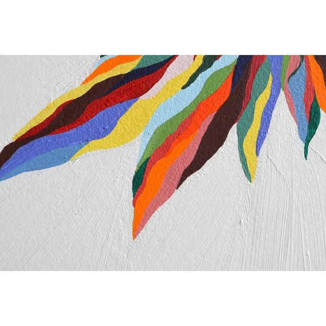"""Original """"Luz Del Fuego"""" Painting - Image 2 of 4"""