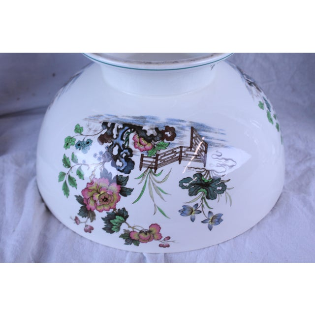 Early 20th Century 20th Century Asian Spode Punch Bowl For Sale - Image 5 of 7
