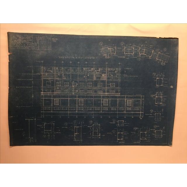 Large Original Tiger Stadium Blueprints - Pair - Image 7 of 7