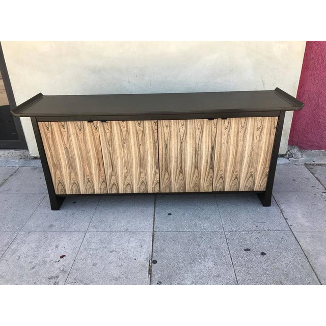 Bernhardt 2-Tone Asian Flair Sideboard For Sale - Image 5 of 7