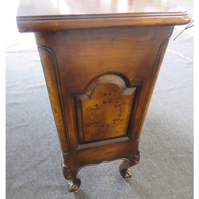 Brown Victorian Style Commode For Sale - Image 8 of 11