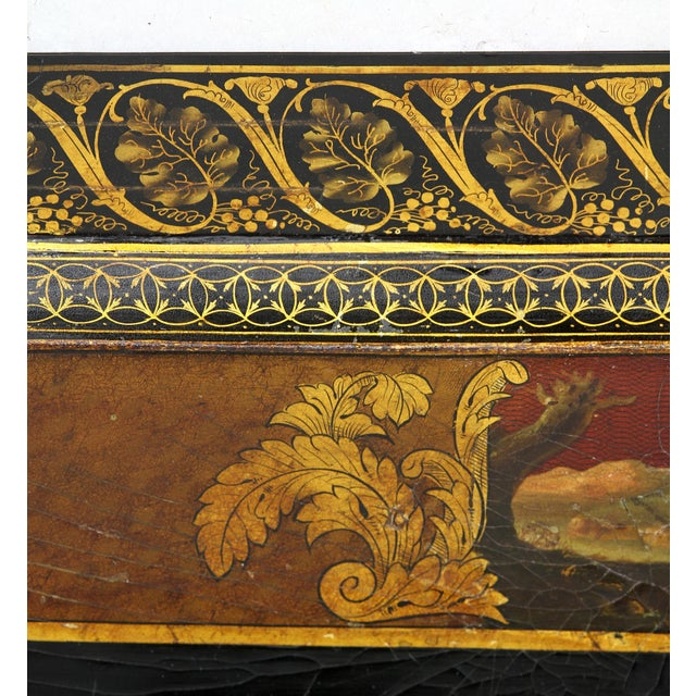Regency Papier Mâché Tray Top Coffee Table For Sale - Image 10 of 13