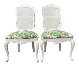 Image of French Country Side Chairs