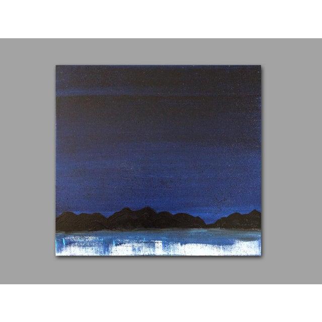 "Linnea Heide ""Midnight Range"" Original Painting - Image 5 of 6"