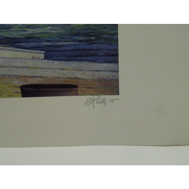 "Mary Anne Reilly 1985 ""Potamac Springtime"" Signed Print For Sale In Pittsburgh - Image 6 of 7"