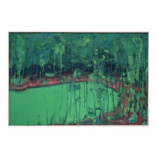 """The Lagoon"" Contemporary Painting by Stephen Remick For Sale"