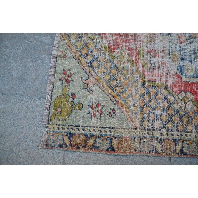 "Handmade Anatolian Tribal Rug -- 3'9"" x 5'3"" - Image 6 of 6"