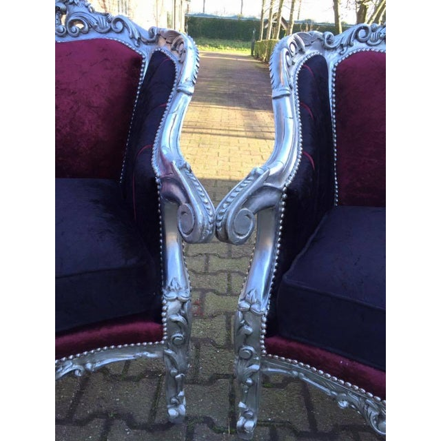 Baroque Style Chairs - Pair - Image 4 of 6