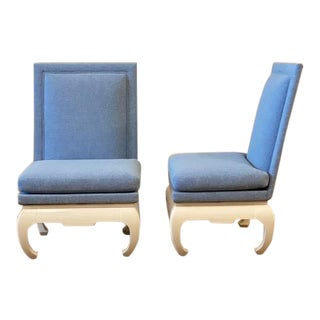 James Mont Style Chairs- a Pair For Sale