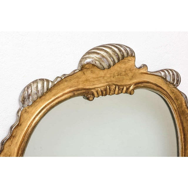 Italian gilt scrolled wall mirror. NOTE - WE CAN ASSIST WITH CUSTOMER ARRANGED SHIPPING: SELECT LOCAL PICKUP AND CONTACT...