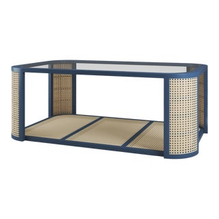 Lola Coffee Table - Newburyport Blue For Sale