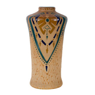 1906 Antique Roseville Fujiyama Vase For Sale