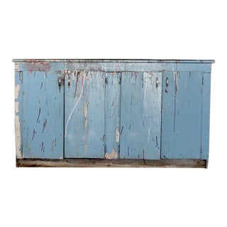 Vintage Painted Work Cabinet