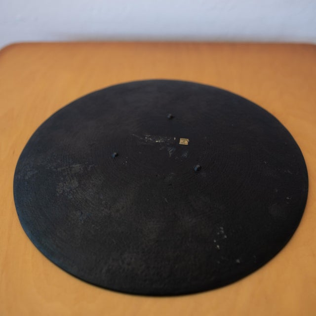 Modernist Japanese Tetsubin Low Iron Bowl, 1960s For Sale In San Diego - Image 6 of 8