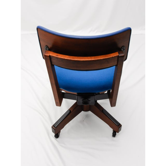 Mid-Century Gunlocke Office Chair - Image 4 of 11