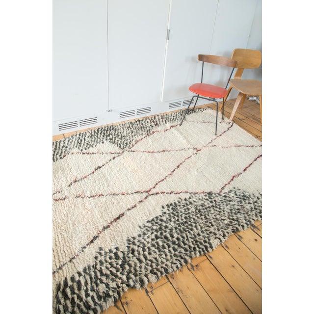 "Vintage Moroccan Carpet - 5'6"" X 8'3"" - Image 10 of 10"