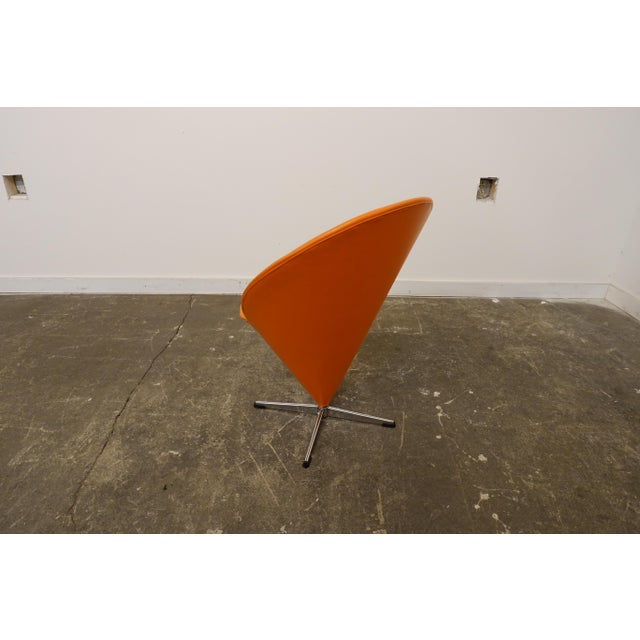 Modern Mid Century Modern Verner Panton Cone Chair For Sale - Image 3 of 7