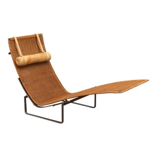 Poul Kjaerholm PK24 Chaise Lounge For Sale