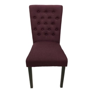Textured Purple Occasional Chair