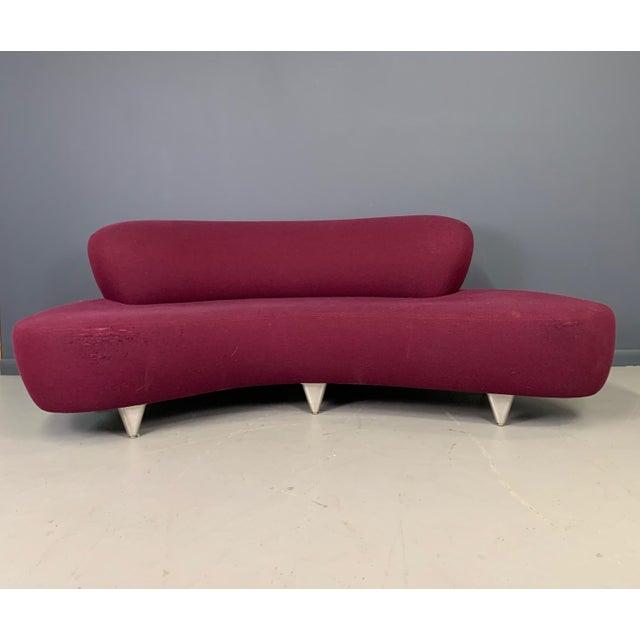 Mid-Century Modern 1970s Vladimir Kagan Sofa for Modernica For Sale - Image 3 of 13