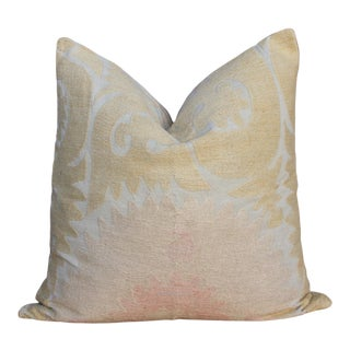 Sahi Suzani Square Pillow For Sale