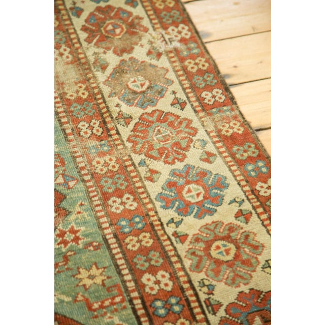 "Antique Kazak Rug - 4'2"" X 6'3"" - Image 8 of 9"