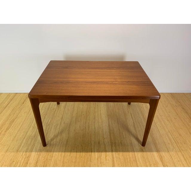 Wood 1960s Danish Modern Henning Kaerjnulf for Vejle Stole + Møbelfabrik Teak Dining Table For Sale - Image 7 of 11