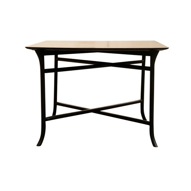 Mid-Century Modern 1970s Mid Century Modern Widdicomb Coffee Table With Skinny Legs Crossing For Sale - Image 3 of 7