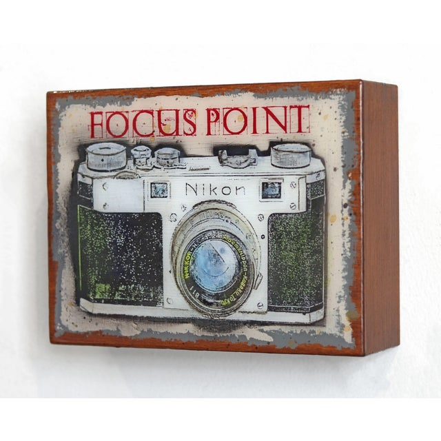 """""""Focus Point"""" Original Artwork by Carl Smith For Sale In Los Angeles - Image 6 of 10"""