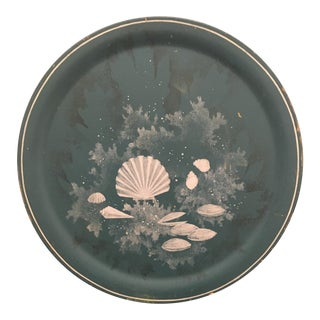 Plate - Wooden Vintage Decorative Charger Plate For Sale