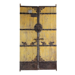 Vintage Mongolian Garden Gate For Sale
