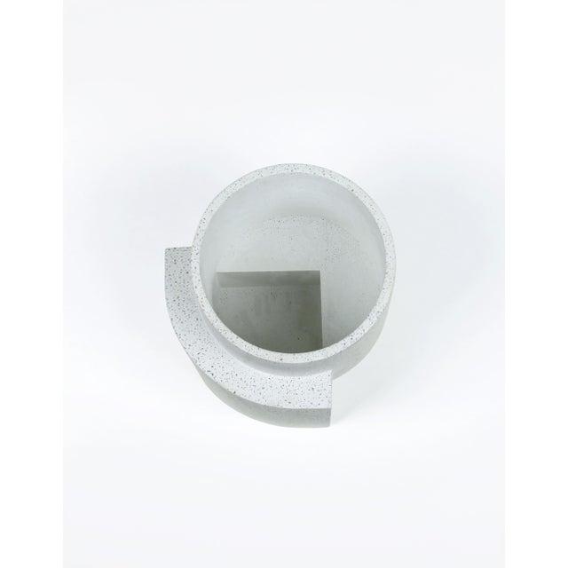 Postmodern Tortuga Platform Medium White Planter For Sale - Image 3 of 7