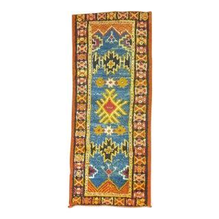Vintage Moroccan Rug, 2' X 4'9''