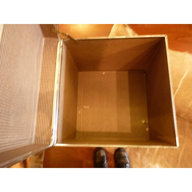 Woven Wood Storage Trunk - Image 10 of 10