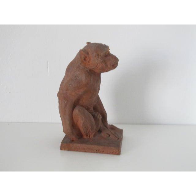 Terracotta Monkey - Image 3 of 7