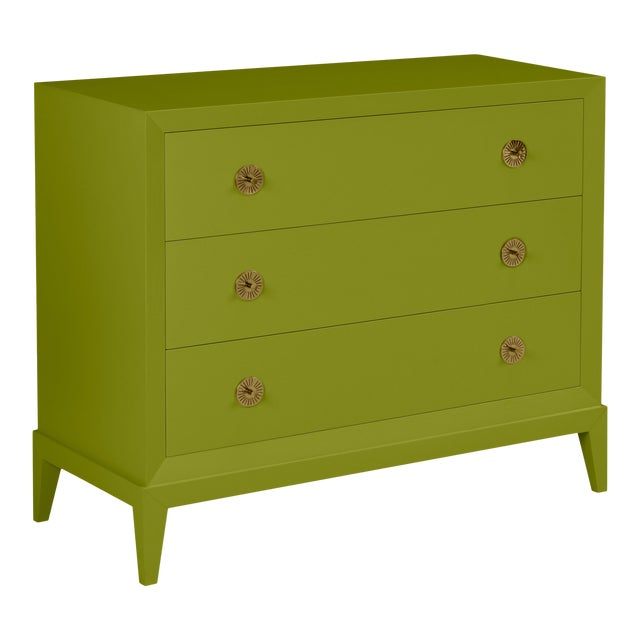 Casa Cosima Hayes Chest, Dark Celery For Sale